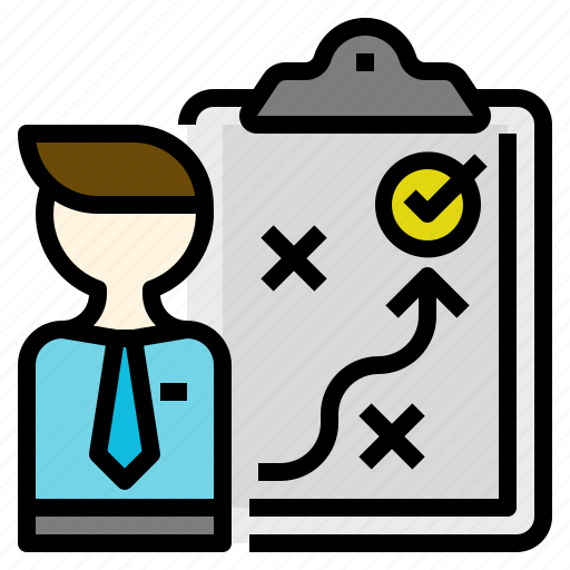 approach, business, direction, management, planner, solution, strategy icon