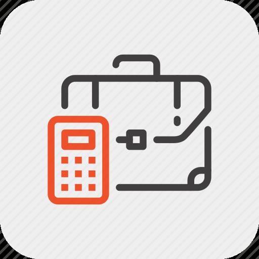 briefcase, business, case, finance, management, portfolio, suitcase icon