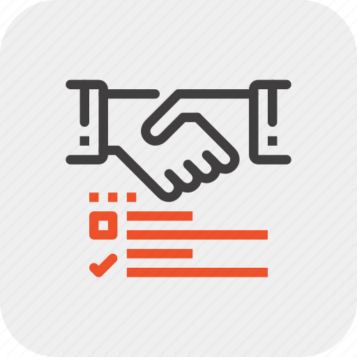 agreement, business, contract, deal, handshake, options, partnership icon