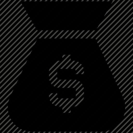 Bag, bank, business, currency, dollar, money, money bag icon - Download on Iconfinder