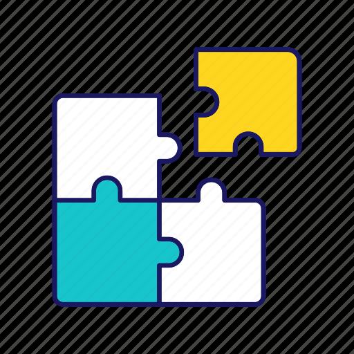 Brainteaser, decision, problem solving, puzzle, puzzling, solution, match icon - Download on Iconfinder