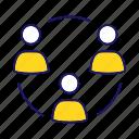 business, circle, cooperation, partnership, people, team, teamwork