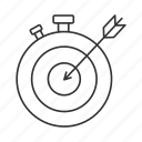 clock, deadline, goal, stopwatch, target, task, time management