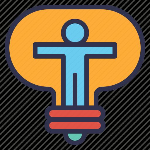 creative, energy, environment, idea, innovation, motivation, productive icon