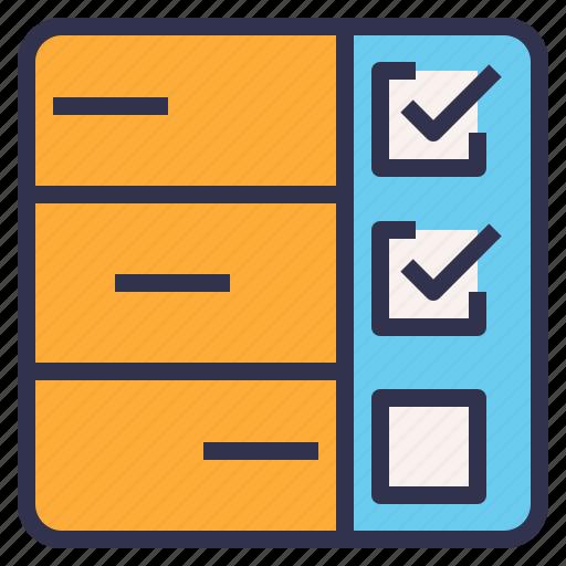 checklist, planning, task, timeline icon