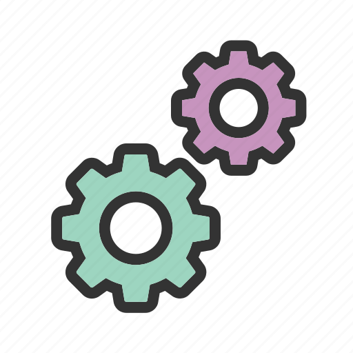 gear, gears, graphic, settings, technology, tool, wheel icon