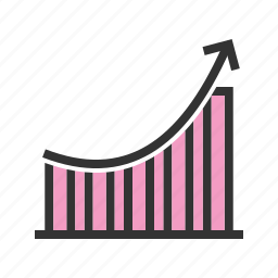 bar, business, chart, charts, graph, growth, progress icon