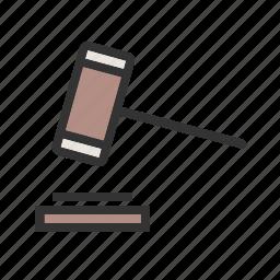 balance, business, judge, justice, law, legal, verdict icon
