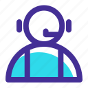 call, customer, headset, jobs, service, support icon icon