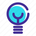 business, energy, idea, light, lightbulb icon icon