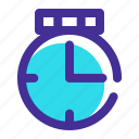 business, clock, coins, finance, money, time icon icon