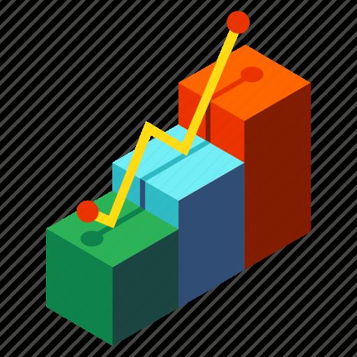 achievement, business, development, graph, growth, profit, success icon