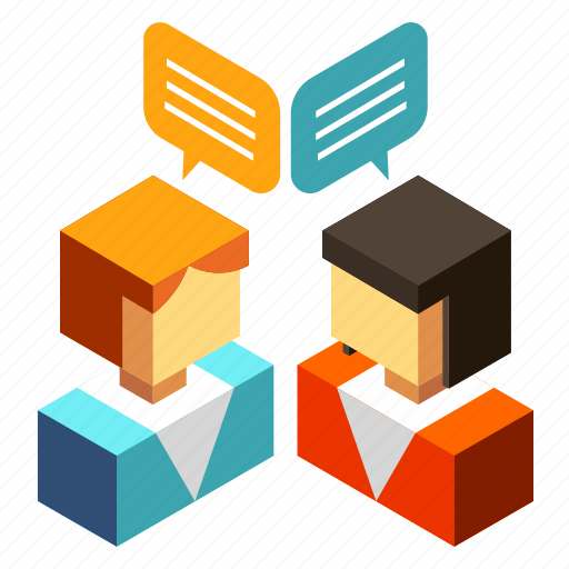 business, discussing, discussion, planning, speak, speaking, talking icon