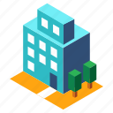 building, buildings, office, business, isometric, architecture, structure