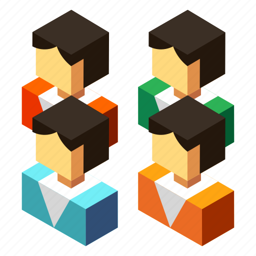 business, community, corporate, employee, people, team, teamwork icon