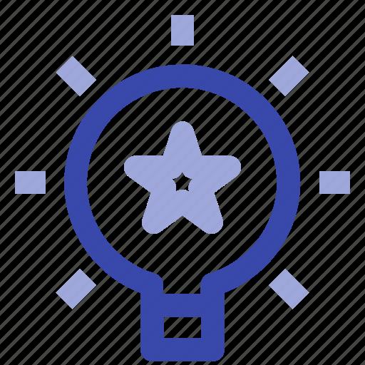 bulb, business, creative, idea, lamp, light, management icon