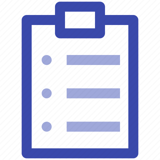business, clipboard, list, management, office, task icon