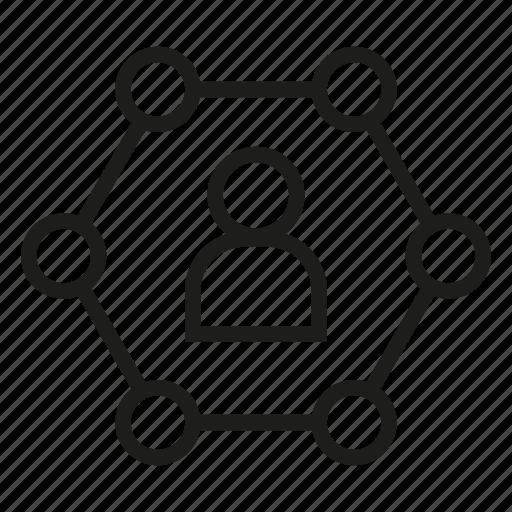 diagram, people icon