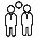 group, people, teamwork icon