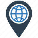 direction, global, gps, location, map pin, navigation icon