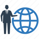 business, communication, connection, global, internet, network icon