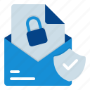 secure, email, encryption, private, access, encrypted, secret icon