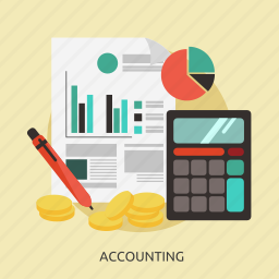 accounting, business, concept, marketing, strategy icon