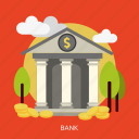 bank, business, finance, financial, marketing, money icon