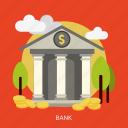 bank, business, finance, financial, marketing, money icon