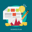 business, marketing, plan, vision icon