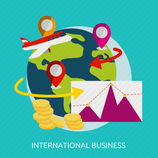 business, creative, financial, international, marketing, strategy icon