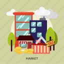 business, development, financial, management, market, marketing, stock icon