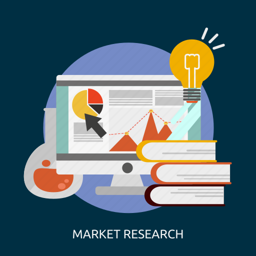 business, idea, innovation, market, marketing, plan, research icon