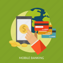 advertising, banking, business, economic, marketing, mobile, money icon