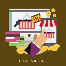 business, internet, marketing, mobile, online, shopping icon