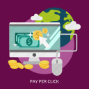business, click, marketing, money, pay, per icon