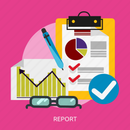 analysis, business, innovation, marketing, profit, report icon