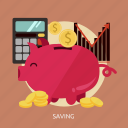 business, investment, marketing, profit, saving, stock icon