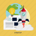 business, growth, marketing, startup, success icon
