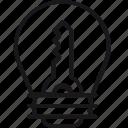 idea, key, bulb, creativity, lamp, solution, unlock