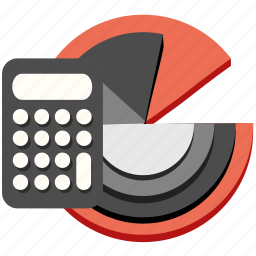 calculation, calculator, chart, finance, marketing, math, report icon