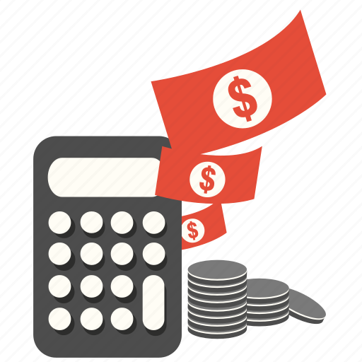 banking, business, calculator, coin, money, pay, payment icon