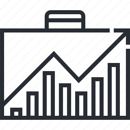 analysis, business, finance, pixel icon, planning, strategy, thin line icon
