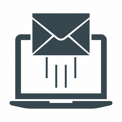 e-mail, e-mail marketing, emailer, envelope, laptop, mail, marketing icon