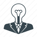 bulb, business, creative, idea, marketing icon