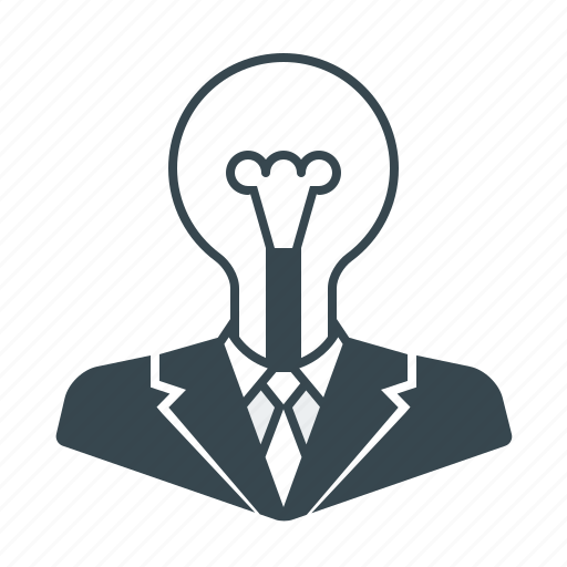 bulb, business, creative, idea, marketing icon