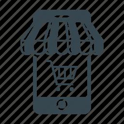 buy, marketing, mobile, mobile shop, shop, smartphone, store icon