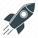 business, campaign, launch, mission, rocket, start, startup icon