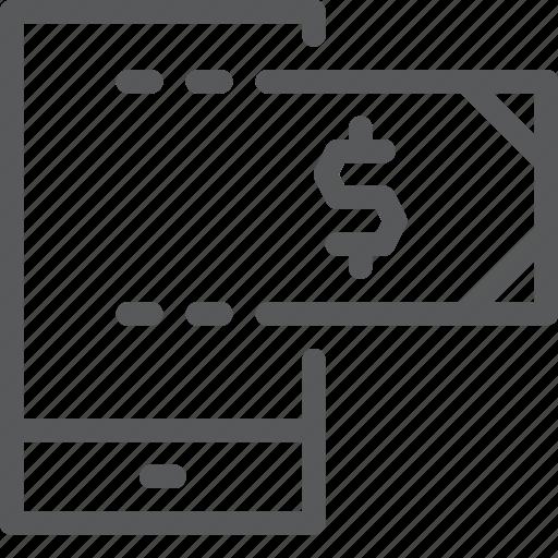 app, business, cash, mobile, money, payment, smartphone, transaction icon