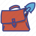 activities, business, case, key icon